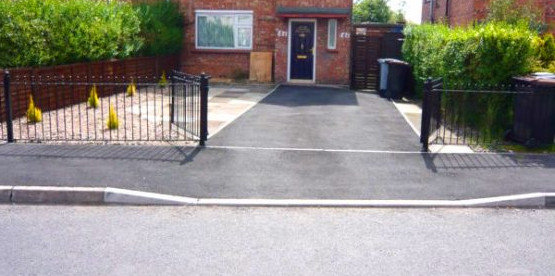 dropped kerb company North Somerset