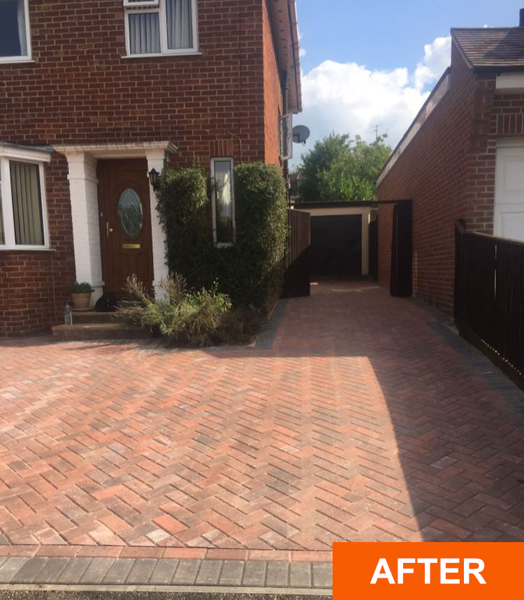 Block Paving Driveways Combe Down